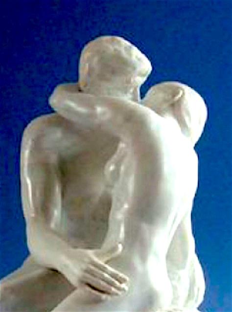 Der Kuß Rodin 2 Ausschnitt