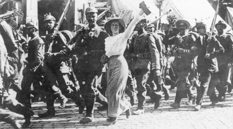 Euphorie 1. Weltkrieg