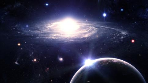 erde-und-galaxie