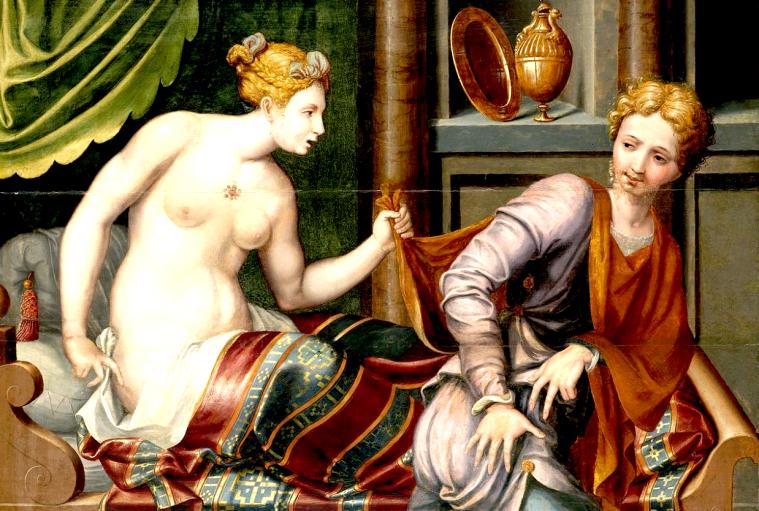 Joseph und die Frau des Potiphar (Fontainebleau),