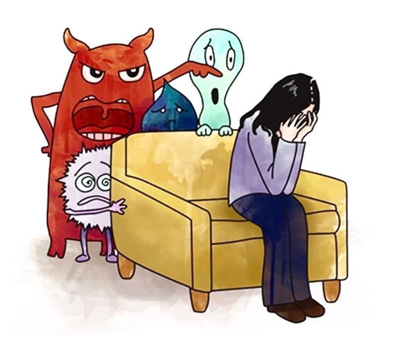 Dämonen von hinten