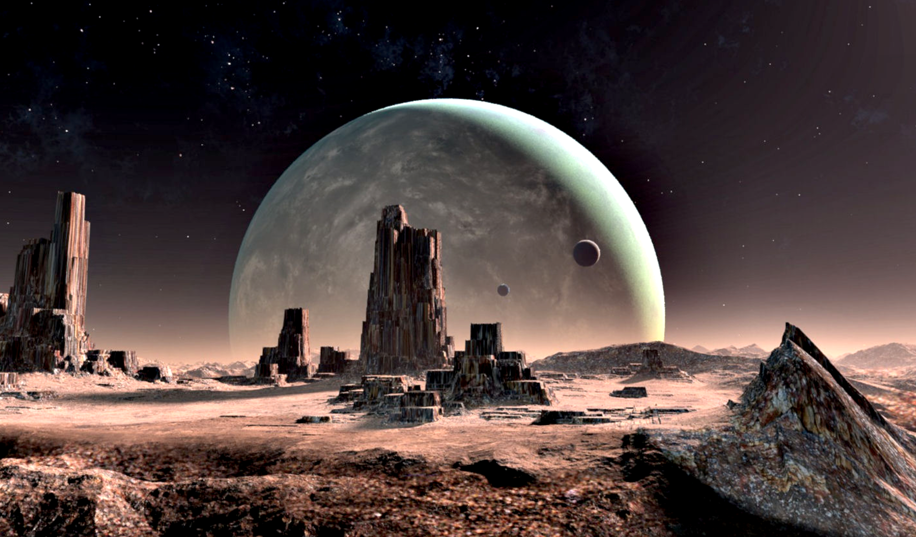 Foreign planet